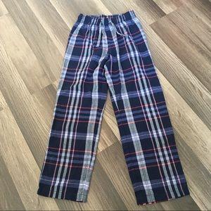GAP Kids Girls Indigo Flannel Pajama Pants